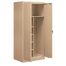 Salsbury Industries 9274TAN-A Storage Cabinet - Combination - 78 Inches High - 24 Inches Deep - Tan - Assembled
