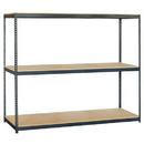 Salsbury Industries 9782 Bulk Storage Rack - 96 Inches Wide - 84 Inches High - 24 Inches Deep