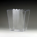 Maryland Plastics Candy Time Scalloped Container, Clear