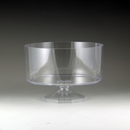 Maryland Plastics Candy Time Trifle Dish, Clear