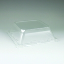 Maryland Plastics Simply Squared Plate Lid, Clear