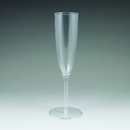 Maryland Plastics LU00105 5 oz. Lumiere Champagne Flute, Clear