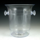 Maryland Plastics MPI0054 7.5 qt Sovereign Ice Bucket, Clear