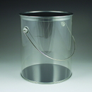Maryland Plastics Paint Can, Clear