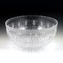 Maryland Plastics MPI03206 12 qt. Crystalware Crystal Cut Bowl, Clear