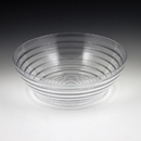 Maryland Plastics Crystalware Ringed Bowl, Clear