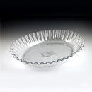 Maryland Plastics MPI03986 Sovereign Fluted Serving Dish, Clear