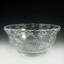 Maryland Plastics Crystalware Punch Bowl, Clear
