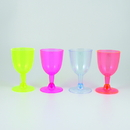 Maryland Plastics MPI19220 5 oz. Dazzling Lights Wine Glass, Assorted