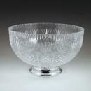 Maryland Plastics MPI31296 12 qt. Crystalware Cut Pedestal Bowl, Clear