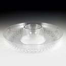 Maryland Plastics MPI31706 Crystalware Sombrero Tray, Clear