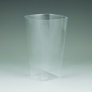 Maryland Plastics Simply Squared Tumbler, Clear