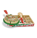 Melissa & Doug 167 Pizza Party - Wooden Play Food