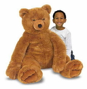 Melissa & Doug 2138 Jumbo Brown Teddy Bear