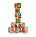 Melissa & Doug 2253 ABC/123 Wooden Blocks