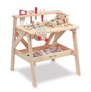 Melissa & Doug 2369 Wooden Project Solid Wood Workbench