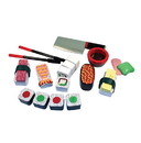 Melissa & Doug 2608 Sushi Slicing Play Set - Wooden Play Food