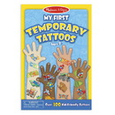 Melissa & Doug 2947 My First Temporary Tattoos: 100+ Kid-Friendly Tattoos - Adventure, Creatures, Sports, and More