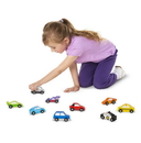 Melissa & Doug 3178 Wooden Cars Set - 9 Pieces