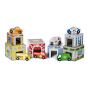Melissa & Doug 3576 Nesting & Sorting Buildings & Vehicles