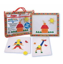 Melissa & Doug 3590 Magnetic Pattern Block Set