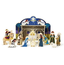 Melissa & Doug 3858 Wooden Christmas Nativity Set
