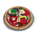 Melissa & Doug 3974 Felt Play Food - Pizza Set