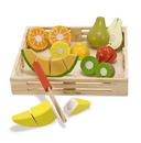 Melissa & Doug 4021 Cutting Fruit Set - Wooden Play Food