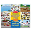 Melissa & Doug 4199 Reusable Sticker Pad - Vehicles