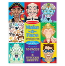 Melissa & Doug 4237 Make-a-Face Crazy Characters Stickers Pad