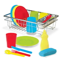 Melissa & Doug 4282 Let's Play House! Wash & Dry Dish Set