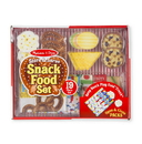 Melissa & Doug 4337 Store & Serve Snack Food Set