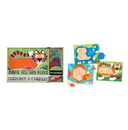 Melissa & Doug 4382 Animal Pattern Blocks Set