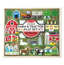 Melissa & Doug 4800 Wooden Farm & Tractor Play Set