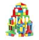 Melissa & Doug 481 100 Piece Wood Blocks Set