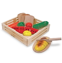 Melissa & Doug 487 Cutting Food - Wooden Play Food