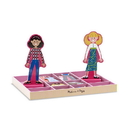 Melissa & Doug 4940 Abby & Emma Magnetic Dress-Up Set