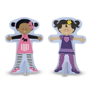 Melissa & Doug 4943 Tops and Tights Magnetic Dress-Up
