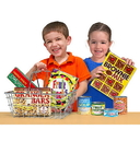 Melissa & Doug 5171 Let's Play House! Grocery Basket with Play Food