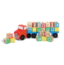 Melissa & Doug 5175 Alphabet Blocks Wooden Truck