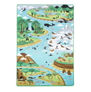 Melissa & Doug 5192 Jumbo Habitats Activity Rug
