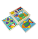 Melissa & Doug 528 Beginner Pattern Blocks