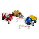 Melissa & Doug 656 Classic Wooden Toy Construction Vehicle Set
