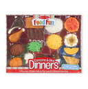 Melissa & Doug 8267 Combine and Dine Dinners - 17-piece set