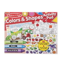 Melissa & Doug 8564 Colors & Shapes Activity Pad