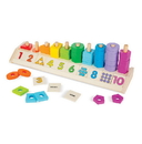 Melissa & Doug 9275 Counting Shape Stacker