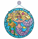 Melissa & Doug 9292 Stained Glass Made Easy - Mermaid