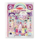 Melissa & Doug 9412 Deluxe Puffy Sticker Album - Day of Glamour