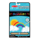 Melissa & Doug 9418 On the Go Scratch Art: Hidden Picture Pad - Favorite Things