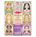 Melissa & Doug 9433 Make-a-Face Sticker Pad - Sparkling Princesses